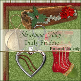 http://skrappingalley.blogspot.com/2009/11/daily-freebie-xmas-log-heart-and-gem.html