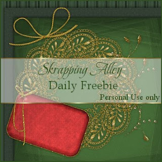 http://skrappingalley.blogspot.com/2009/12/daily-freebie-xmas-gold-filigree-frame.html