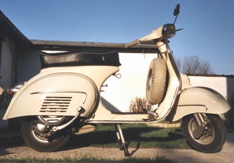 vespa 125 gt 1963