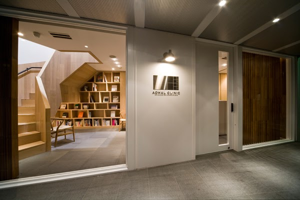imagine these clinic interior design dermatologist clinic tokyo designed by case real ForDermatology Clinic Interior Design