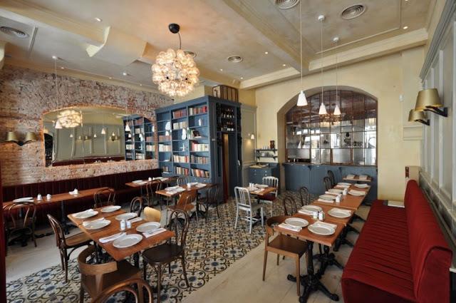Cafe Interior Design La Bonne Bouche Bistro Corvin