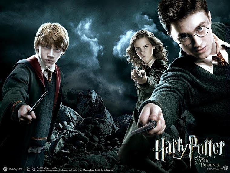 Harry Potter The Order Phoenix HD Wallpaper,Harry-Potter-The-Order-Phoenix-Ron-Hermione-Harry