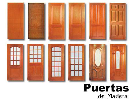 Cederal puertas y muebles for Catalogo de puertas de madera para exteriores