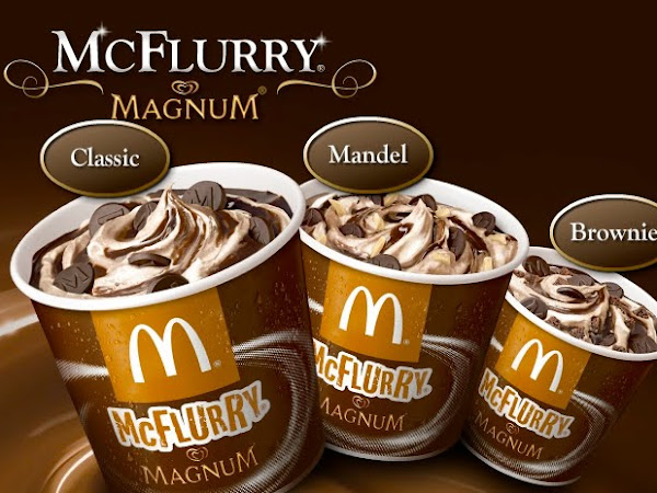 Allergikerinformationen zu den McDonalds McFlurry