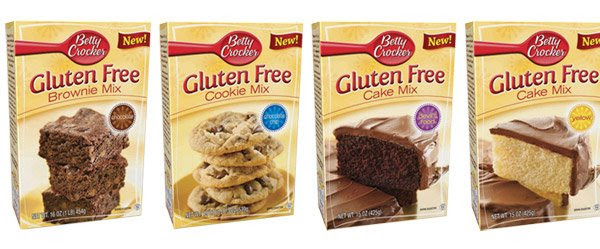 Betty Crocker macht GLUTENFREI