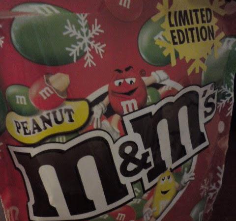 Peanut M&M'S - LIMITED EDITION zu Weihnachten