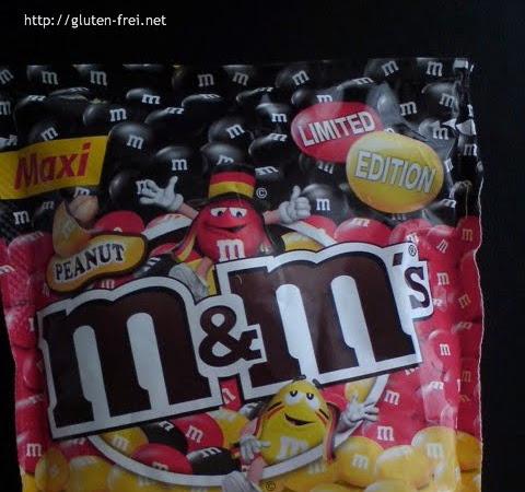 Produkt des Monats - Peanut M&M's im Deutschlandtrikot