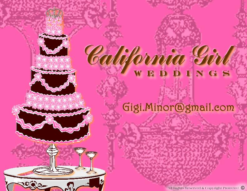 California Girl Weddings