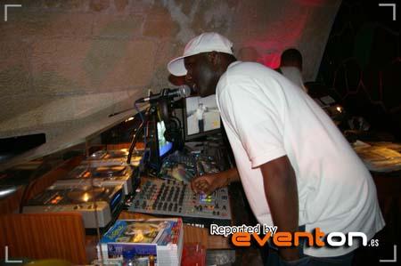 DJ COOL C ON THE MIC