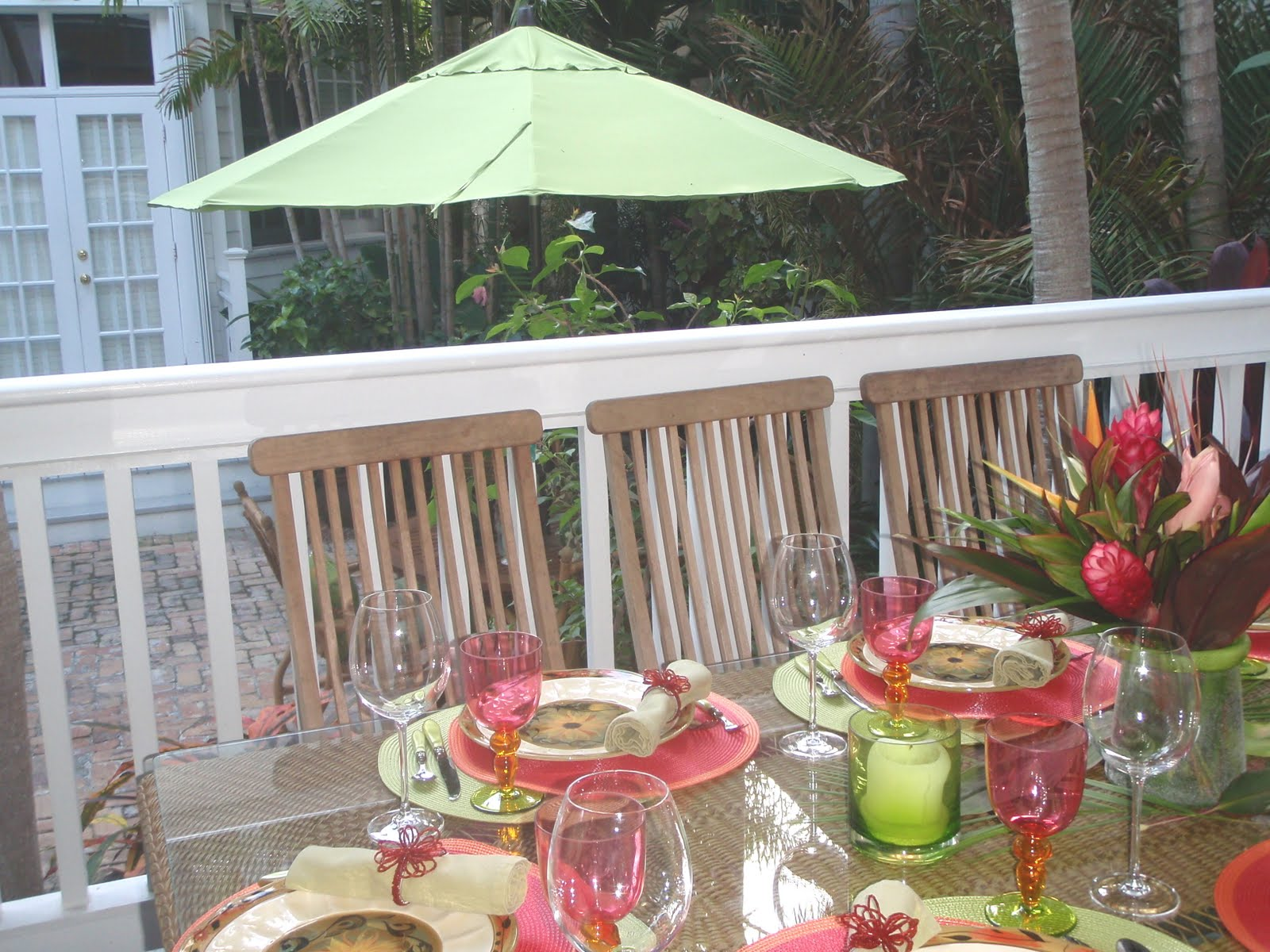 Style Key West: Outdoor Entertaining at Mary Ann's