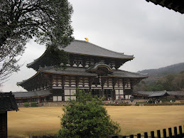 Todaiji Temple (Great Eastern Temple) in Nara, Japan