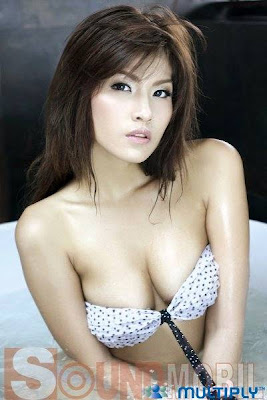Phutteera Soralum Jean Race Queen Actress Star Hot Busty Boobs Thai Sexy Model Photos Gallery