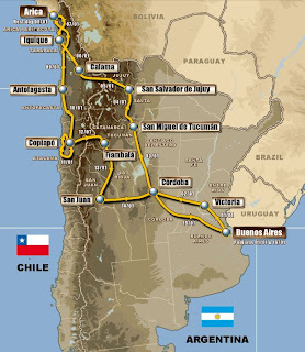 EL DAKAR 2011 EN IMÁGENES