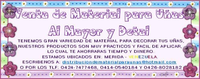 DISTRIBUCION DE MATERIAL PARA UÑAS