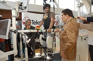 Nueva Lokomat de Teletón Santiago