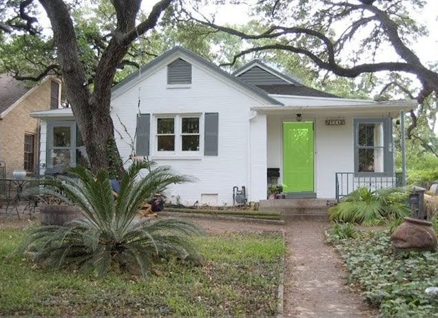 Mad for Mid-Century: Mid-Century Exterior Paint Colors