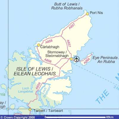 map isle of lewis
