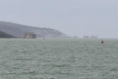 The Needles and Fort Albert