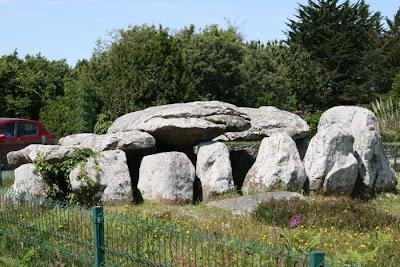 dolmen or tomb