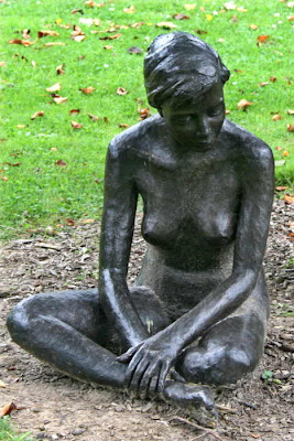 bronze of nude