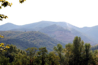 hillside quarry