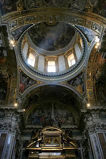 dome in Santa Maria Maggiore