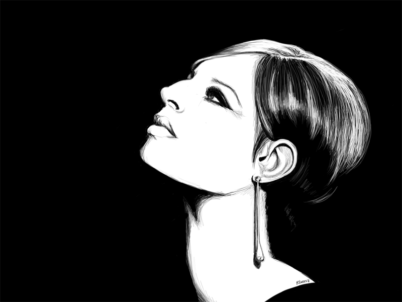 High Contrast Paintings High Contrast Drawings And