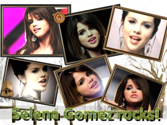 Selena Gomez rocks! (by RaqelC)