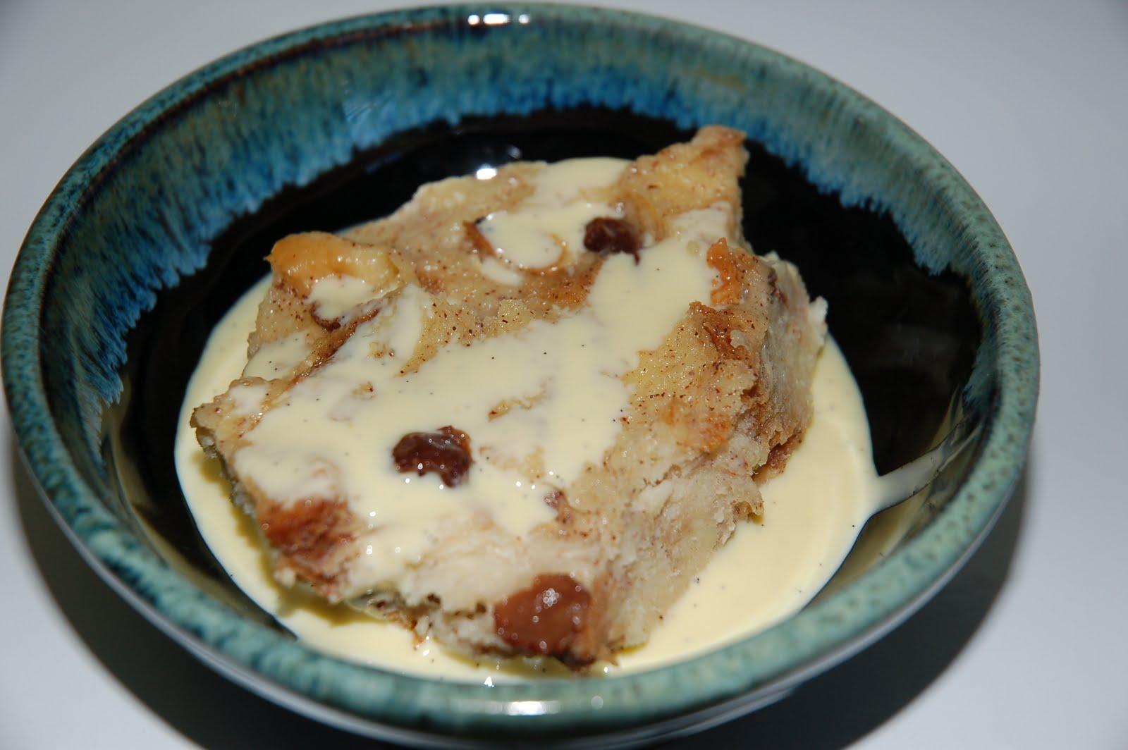 Bread Pudding With Vanilla Custard Sauce Recipes Dishmaps