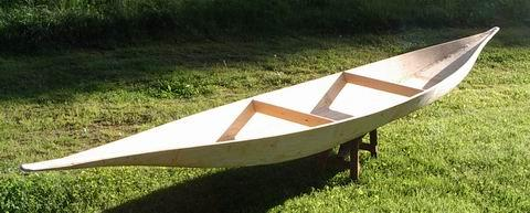 Black of Hat: Canoe from Plywood
