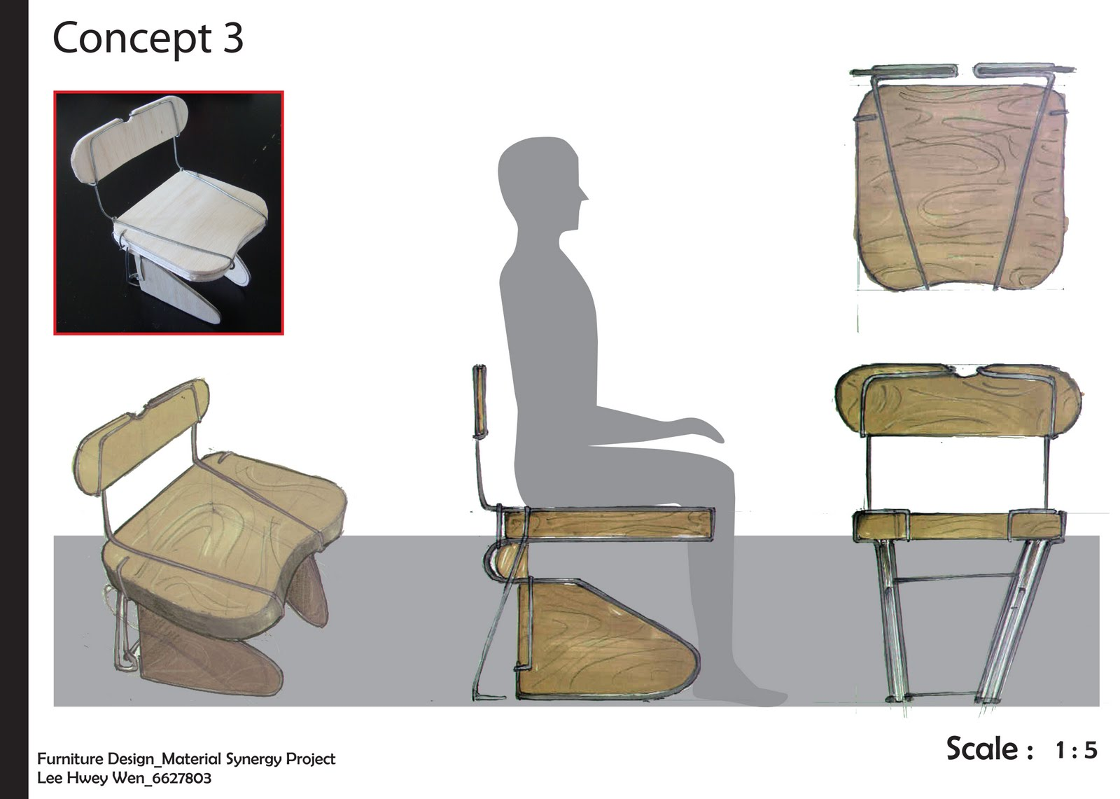 Industrial design cafe chair concepts for Industrial design chair