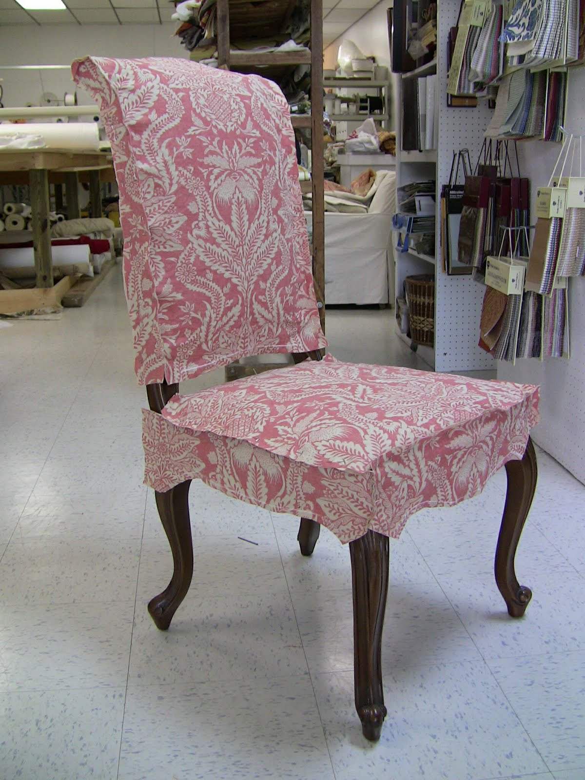 Look Ma Im Sewing Slipcovers French dining chairs : Pat40Kincaids002 from customslipcovereducationblog.blogspot.com size 1200 x 1600 jpeg 254kB