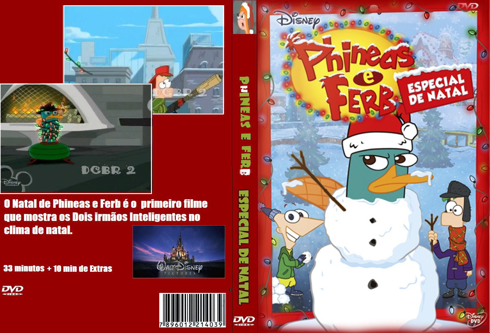Dvd Phineas E Ferb Especial De Natal Gr Tis