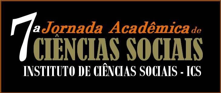 7ª Jornada Acadêmica de Ciências Sociais