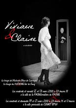 VIVIANE ET CLAIRE : L'affiche Suisse