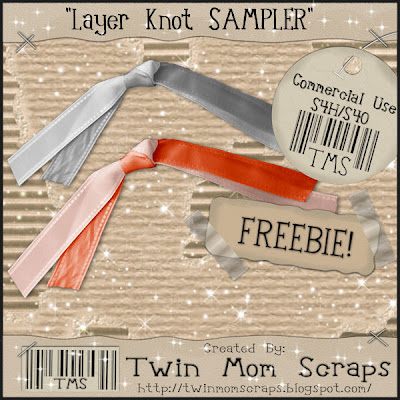 Layered Knot Sampler - By: Twin Mom Scraps PREVIEW_TwinMomScrapsKnotSampler