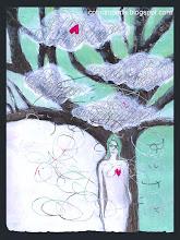 Un'illustrazione, un dipinto, un accessorio, una ricetta perlopiù macrobiotica (anche se questo non