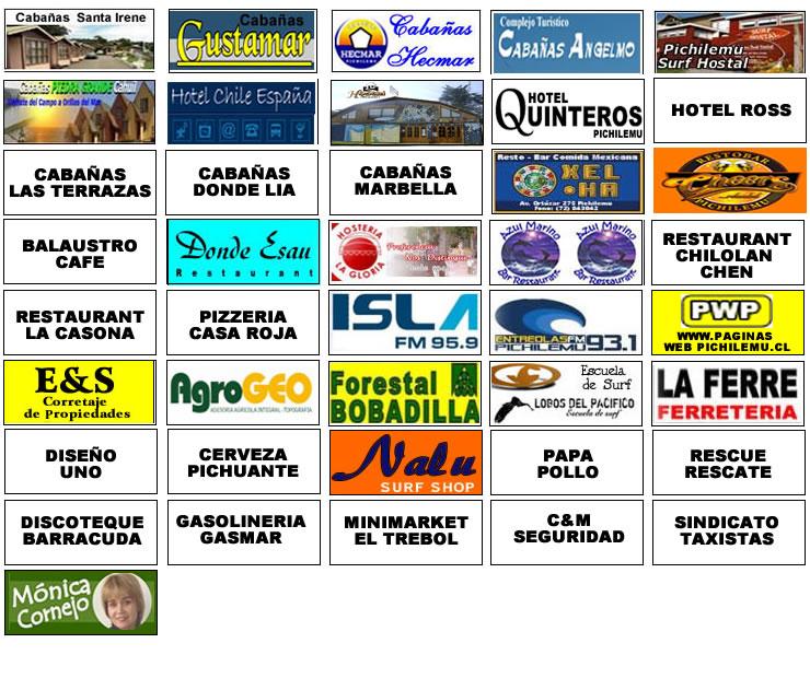 Socios Camara de Turismo de Pichilemu 2010