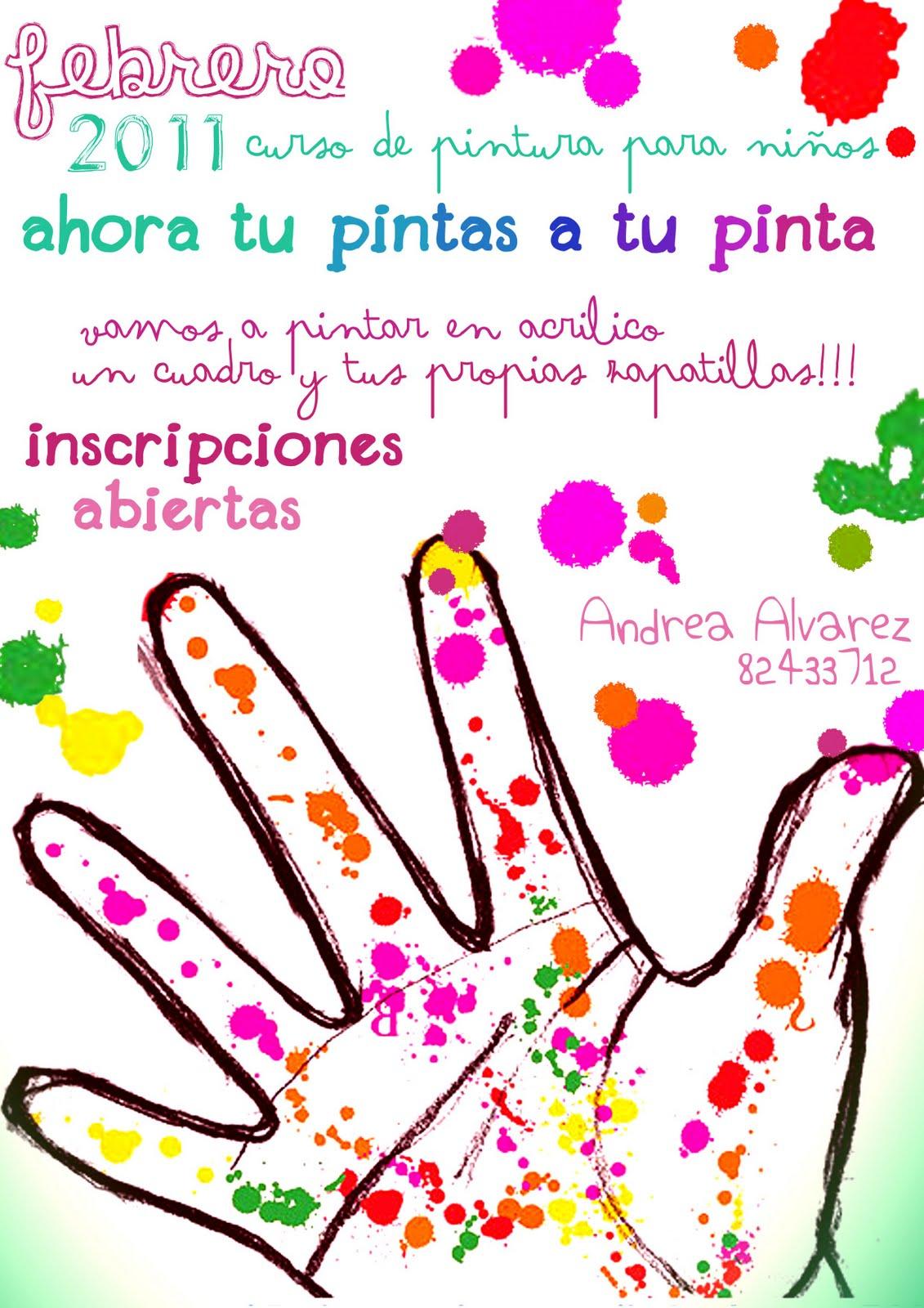pintatupinta: Curso de Pintura para niños!