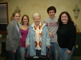 Manda, Heather, Mom, John J and Tammy