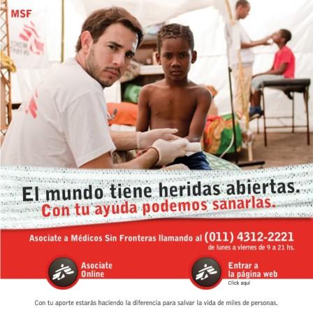 MEDICOS SIN FRONTERAS ARGENTINA