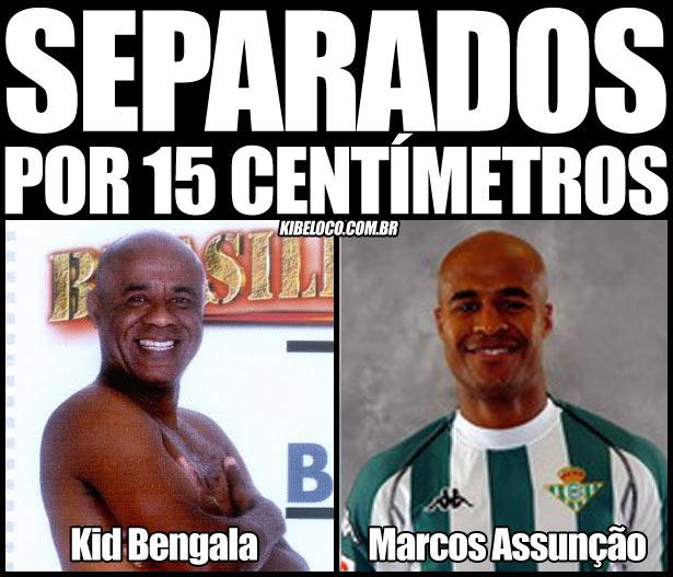 Kid Bengala e Marcos Assunção