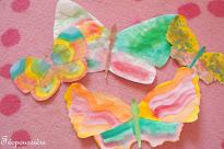 Papillons équilibristes