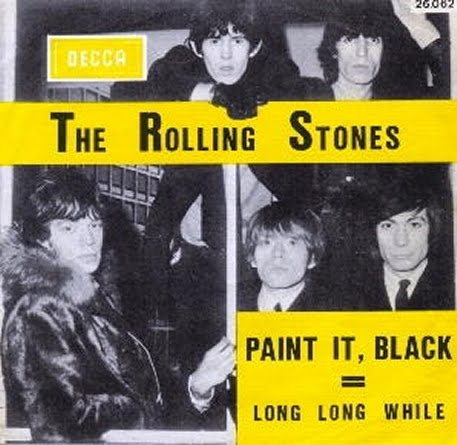 Number ones of the sixties 1966 the rolling stones paint for The rolling stones paint it black