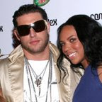 kelly (of 3LW ) with boyfriend Adrian