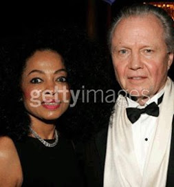 Ms Diana Ross and her new man J. voight..