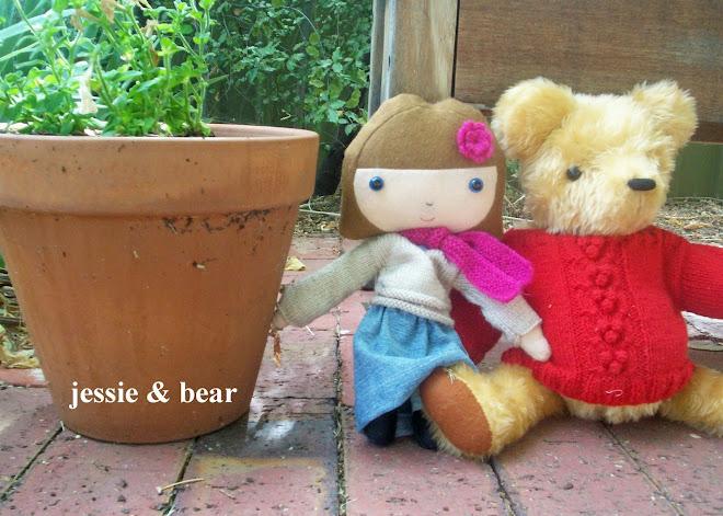 jessie + bear