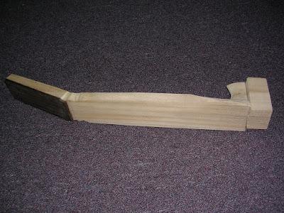Heel carved