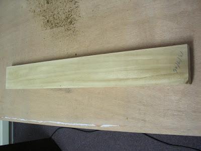 Paulownia neck blank