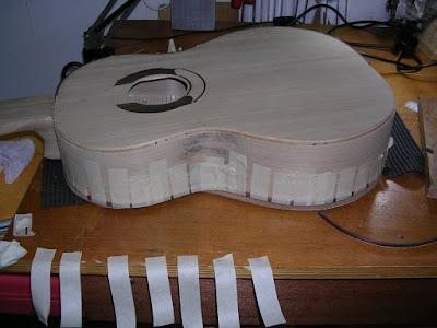 Second binding strip